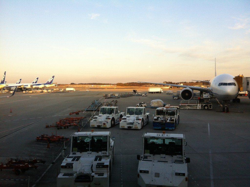 Blick auf den Flughafen (c) Albert Brückmann