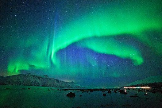 Faszinierend: Polarlichter (© Thomas Hein / pixelio.de)