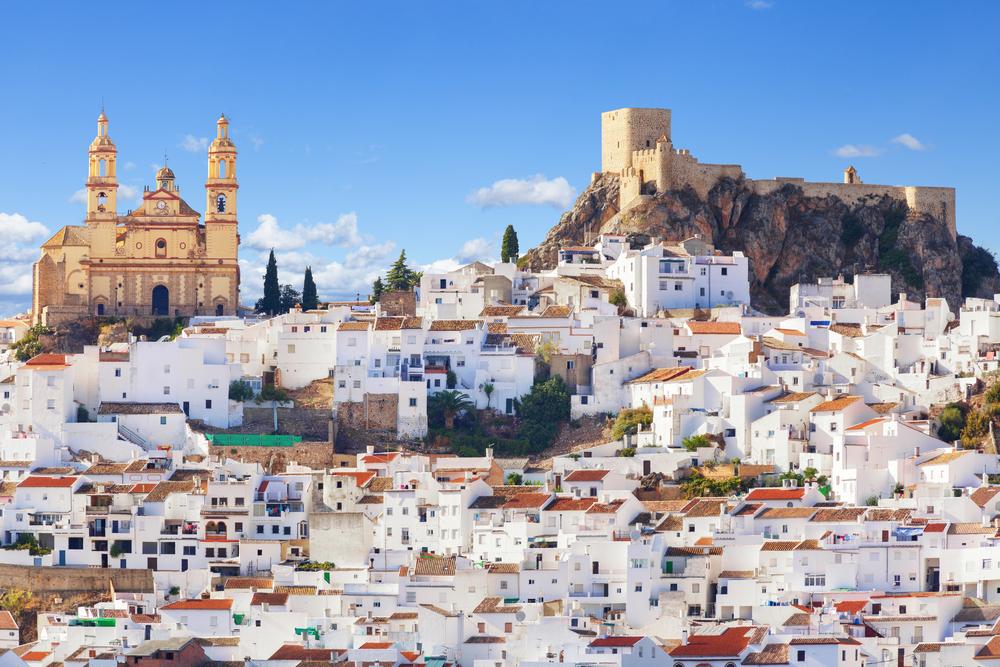Olvera in der Provinz Cádiz, Andalusien (Bild: Jose Ignacio Soto - shutterstock.com)