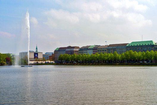 Die Binnenalster. (© Ich-und-Du / pixelio.de)