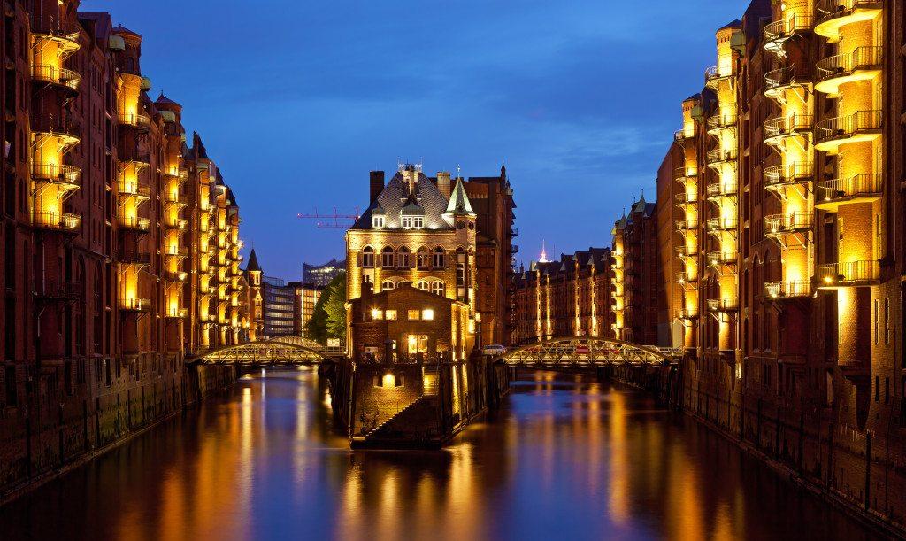 Blick auf die Speicherstadt. (© Thomas Wolf / www.foto-tw.de)