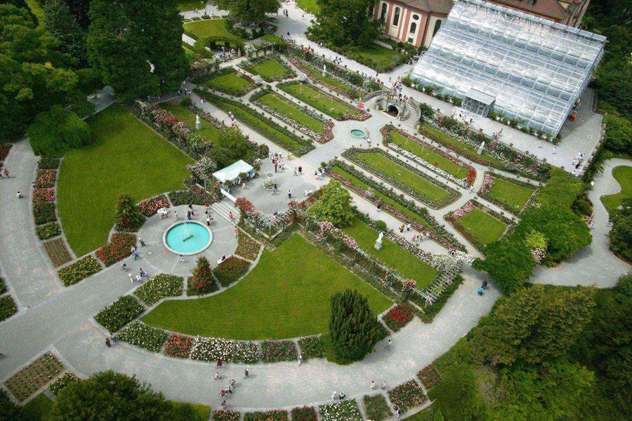 Italienischer Rosengarten (Bild: Insel Mainau)