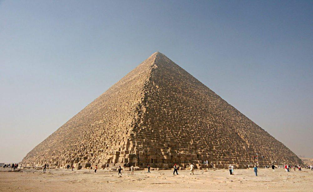 Cheops Pyramide. (Urheber: Berthold Werner / Wikimedia)