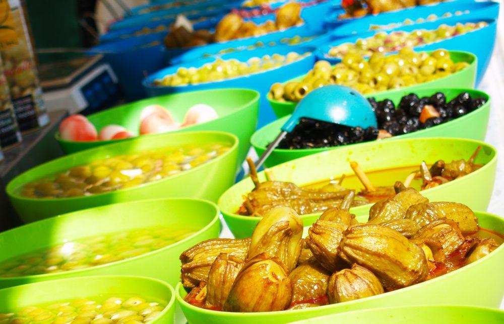 Spanische Oliven - die Qual der Wahl (Bild: Natalia Muler)