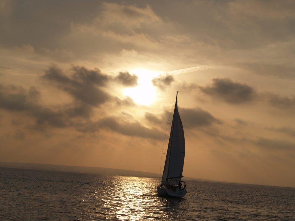 Der Sonnenuntergang auf Tabarca (Bild: Natalia Muler)