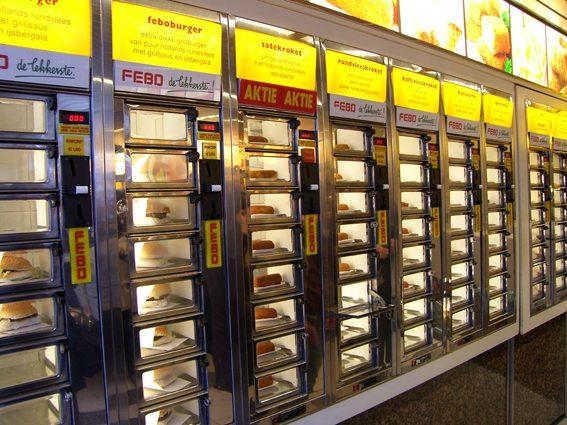 Lecker schmecker frisch vom Automaten (Bild: Natalia Muler)
