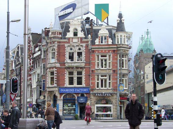 Die Diamantenstadt Amsterdam (Bild: Natalia Muler)