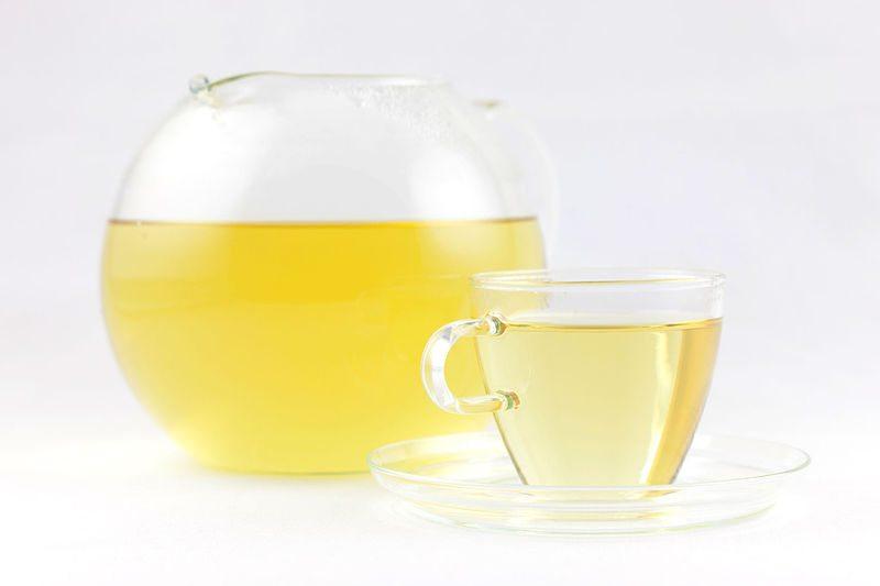 Oolong-Tee frisch zubereitet (Bild: © soultea.de, http://www.soultea.de/, Fotograf André Helbig, http://andrehelbig.de/, Wikimedia, CC)