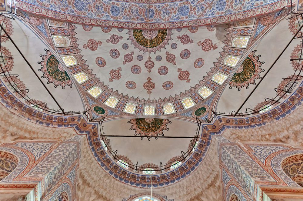 "Eine seitliche Halbkuppel der Sultan-Ahmed-Moschee in Istanbul. (Urheber: H005 / Wiki / Lizenz: <a href=""http://creativecommons.org/licenses/by-sa/3.0/deed.de"" target=""_blank"">CC</a>)"