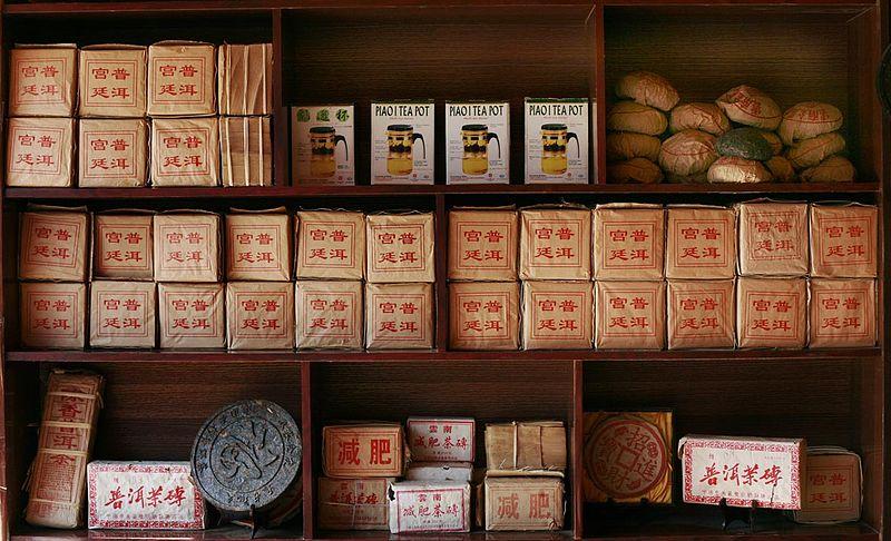 Im Teeladen (Bild: Steve Evans, Wikimedia, CC)