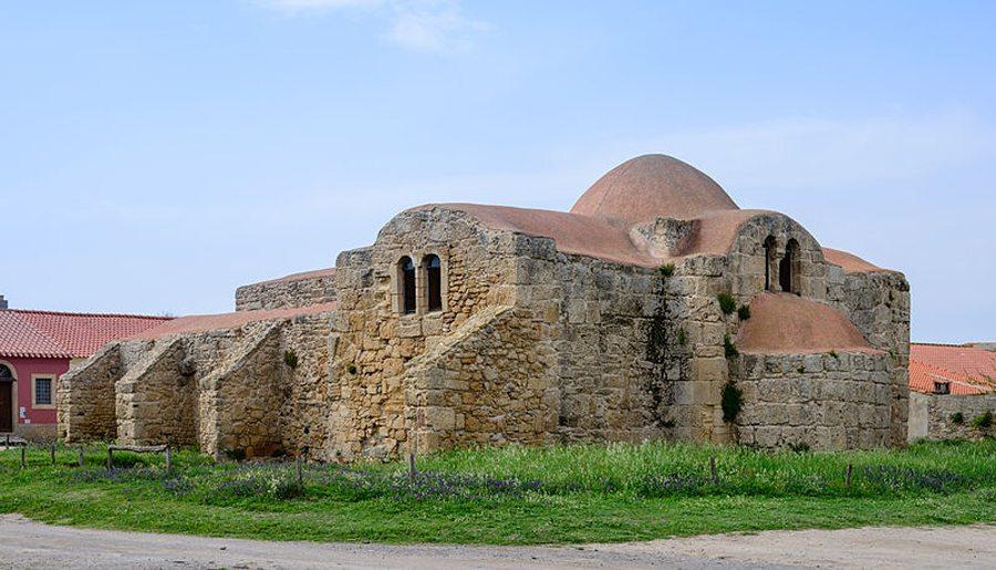 Kirche San Giovanni di Sinis, Cabras, Sardinien (Bild: Norbert Nagel, Wikimedia, CC)