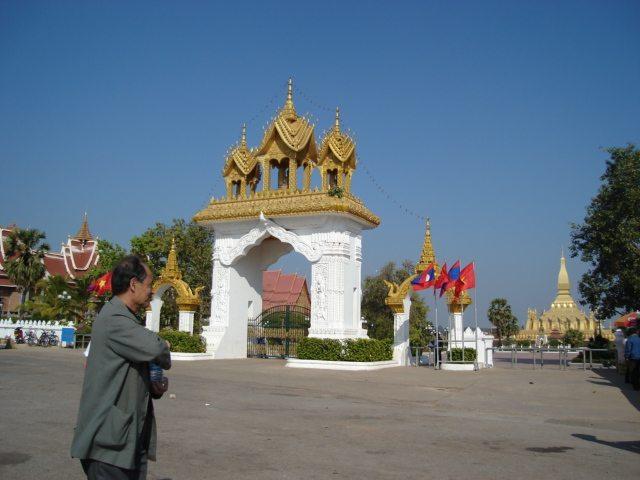 Pha That Luang, Vientiane, Laos. (Urheber: Tevaprapas Makklay / Wiki)