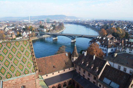 Basel ist seit Jahrhunderten ein wichtiger Verkehrsknotenpunkt in Mitteleuropa (Bild: © Alexander Chaikin - shutterstock.com)