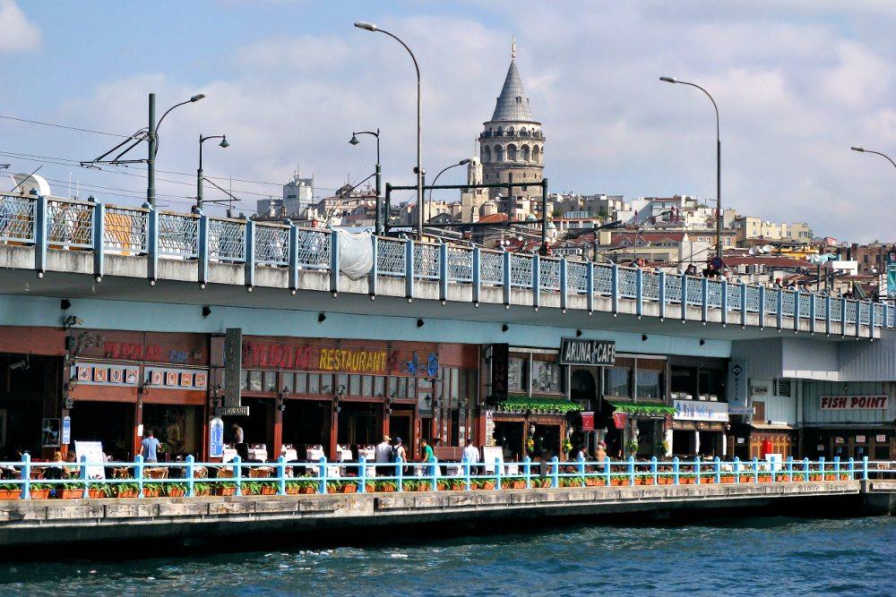 "Galatabrücke in Istanbul. (Urheber: Bildpixel / <a href=""http://pixelio.de"" target=""_blank"">pixelio.de</a>)"