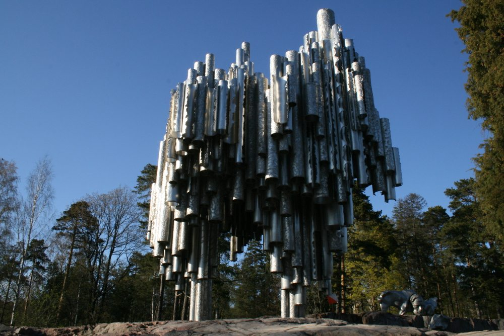 "Sibelius Monument. (Urheber: Jari Villoria / <a href=""http://pixelio.de"" target=""_blank"">pixelio.de</a>)"