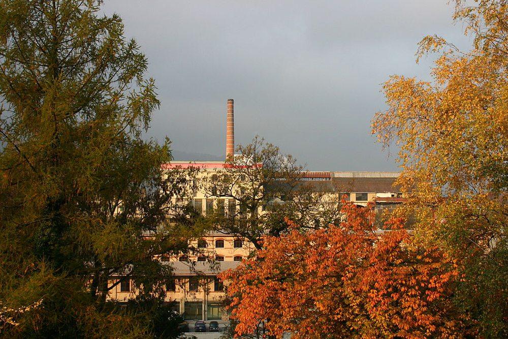 Hürlimann Areal in der Herbststimmung (Bild: David Shilling, Wikimedia, CC)
