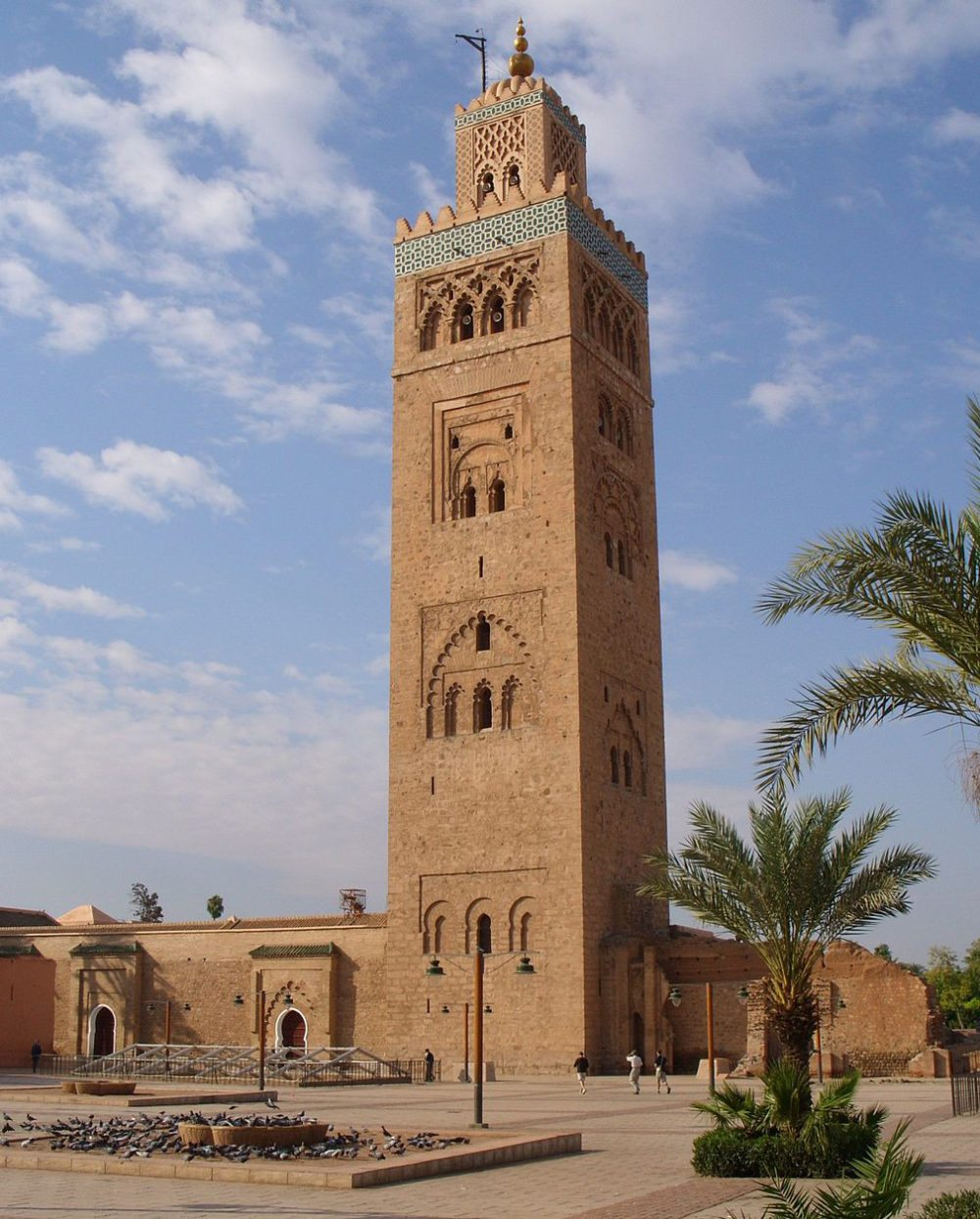 "Koutoubia-Moschee, Marrakesch. (Urheber: Rol1000 / <a href=""http://www.flickr.com/photos/rol1000/5143297057/in/set-72157625299930054"" target=""_blank"">flickr.com</a> / Lizenz: <a href=""http://creativecommons.org/licenses/by-sa/3.0/deed.de"" target=""_blank"">CC</a>)"