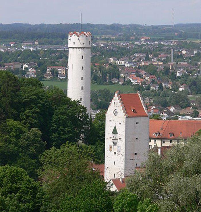 Mehlsack und Obertor, Ravensburg (Bild: Andreas Praefke, Wikimedia, CC)