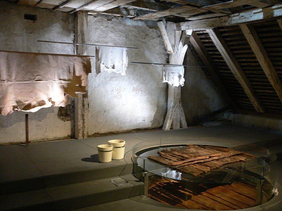 Gerberwerkstatt im Humpis-Quartier (Bild: Andreas Praefcke, Wikimedia)