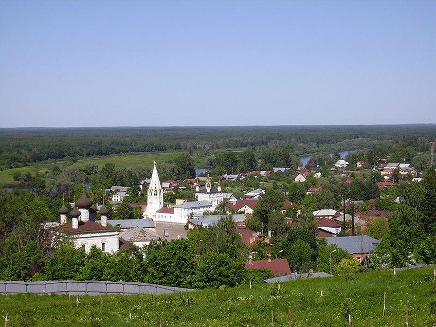 Stadt Gorochowetz bei Wladimir (Bild: bestalex, Wikimedia, CC)