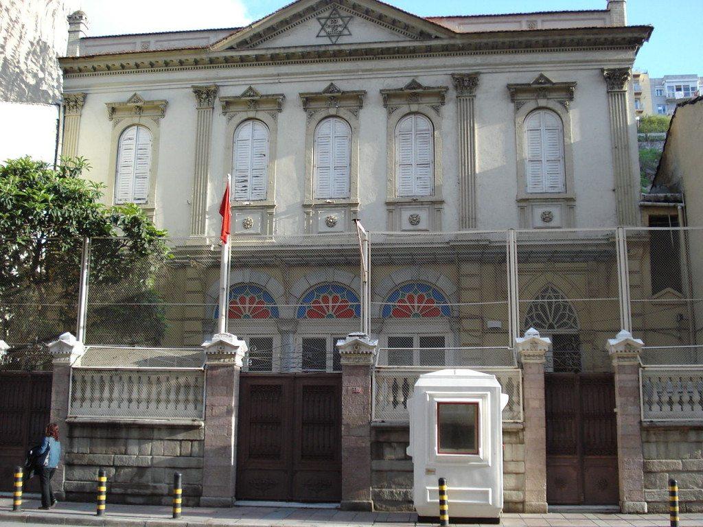 Die Bet Israel-Synagoge in Izmir. (BIld: Yabancı / Wikimedia / CC)