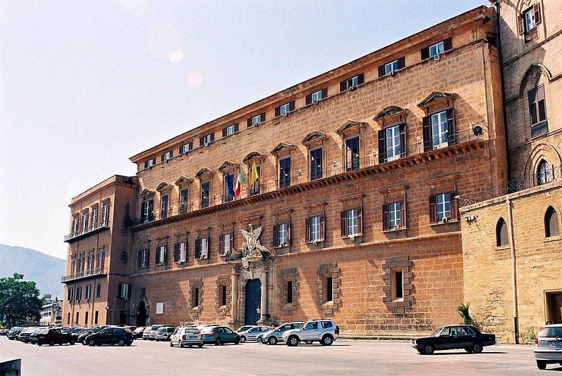 Der Normannenpalast in Palermo. (Bild: bjs / Wikimedia / CC)