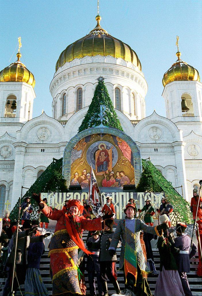 Weihnachtsfeier in Russland (Bild: RIA Novosti archive, image #143897 / Dmitry Korobeinikov / CC-BY-SA 3.0, Wikimedia, CC )