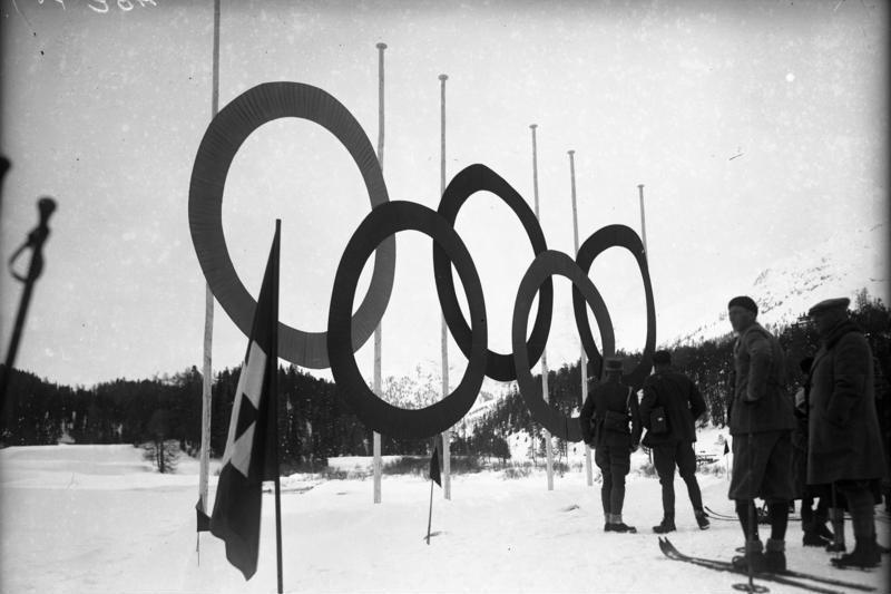 Olympia 1928 in St. Moritz. (Bild: Deutsches Bundesarchiv / WIkimedia / CC)