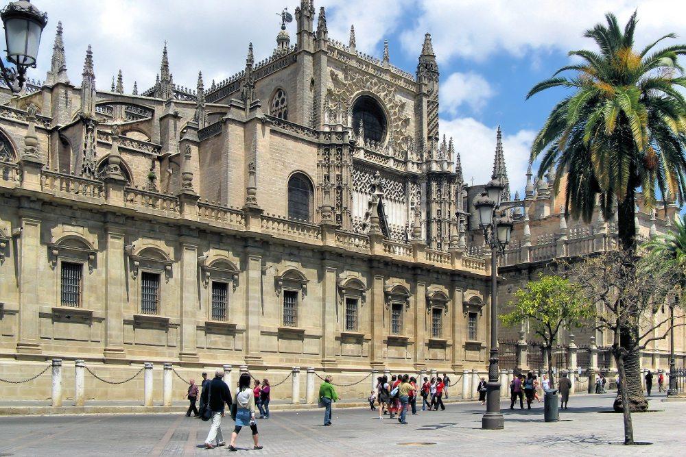 """Kathedrale von Sevilla. (Urheber: Bildpixel / <a href=""""http://pixelio.de"""" target=""""_blank"""">pixelio.de</a>)"""