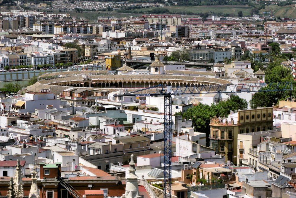 "Plaza de Toros, Stierkampfarena, La Real Maestranza. (Urheber: Bildpixel / <a href=""http://pixelio.de "" target=""_blank"">pixelio.de </a>)"