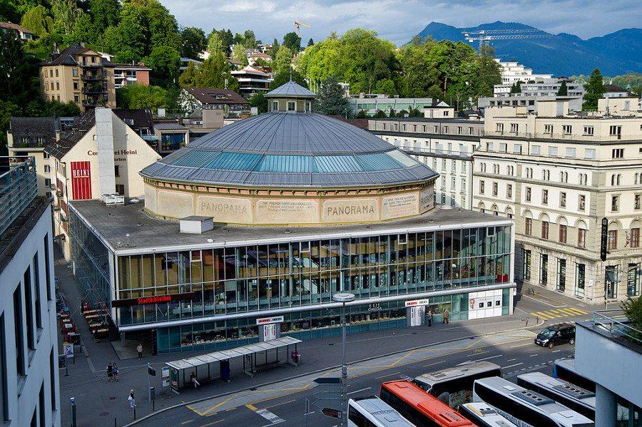 "Bourbaki-Panorama Luzern. (Urheber: Leiju / Wikimedia / <a href=""http://creativecommons.org/licenses/by/3.0/deed.en"" target=""_blank"">CC</a>)"