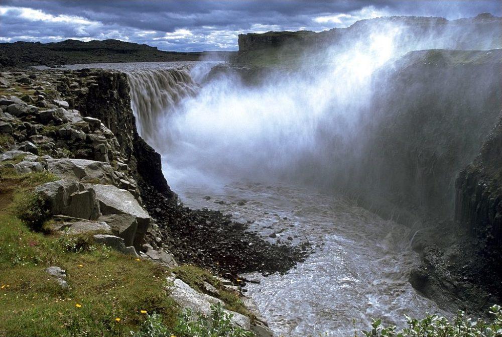 Wasserfall Dettifoss, Island (Bild: Andreas Tille; Wikimedia, CC)