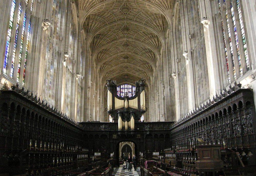 Das Innere der King´s College Chapel (Bild: sailko, Wikimedia, CC)