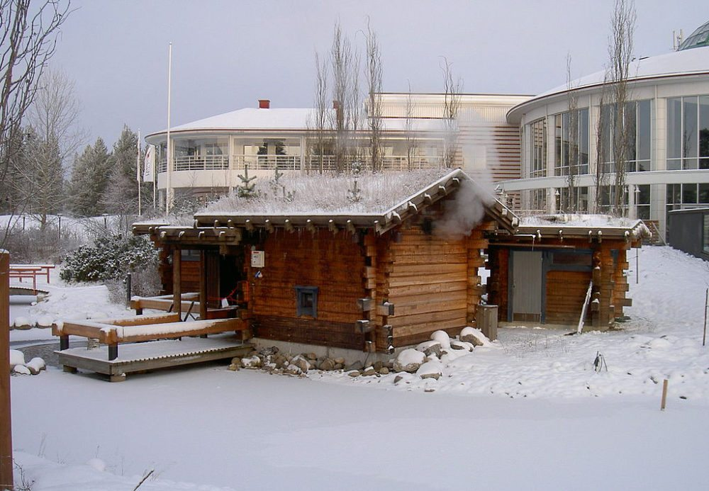 Echte finnische Sauna (Bild: Math, Wikimedia, CC)