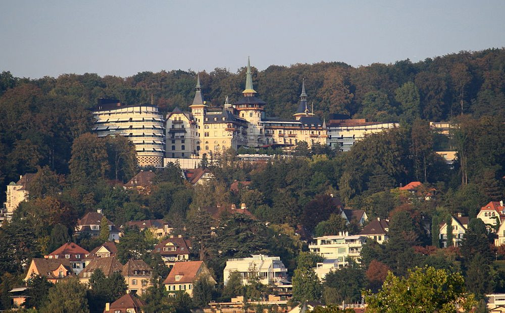 Grand Hotel Dolder in Zürich (Bild: Ronald zh, Wikimedia, CC)