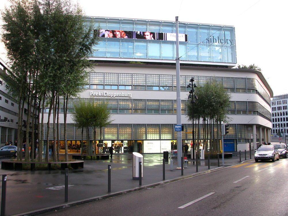 Sihlcity auf dem Areal der ehemaligen «Zürcher Papierfabrik an der Sihl» in Zürich-Wiedikon (Bild: Ronald zh, Wikimedia, CC)