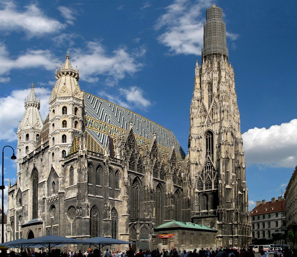 Stephansdom in Wien (Bild: Andrew Bossi, Wikimedia, CC)