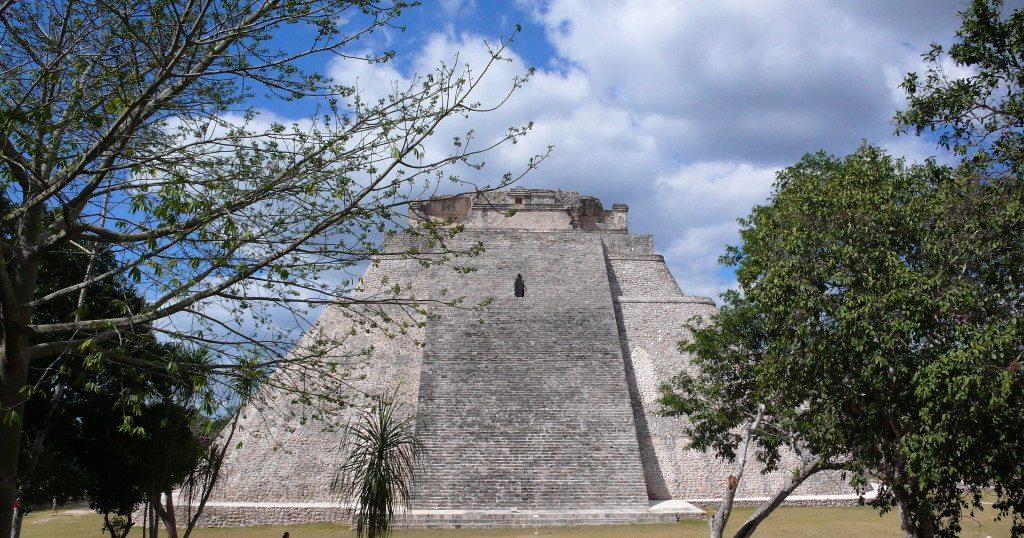 Maya-Tempel in Uxmal (Bild: kretamaris  / pixelio.de)
