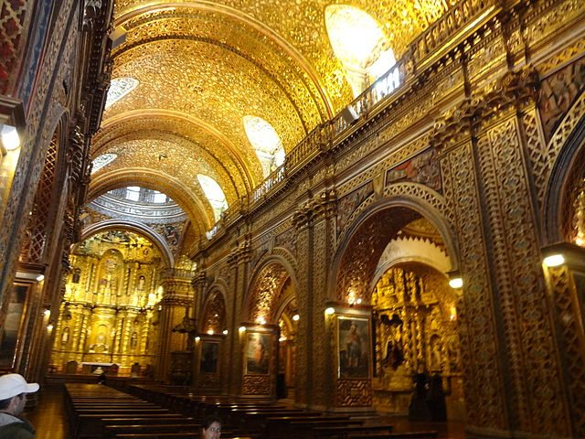 Iglesia de La Compañía (Bild: David Adam Kess / pt.wikipeda / Lizenz: CC)
