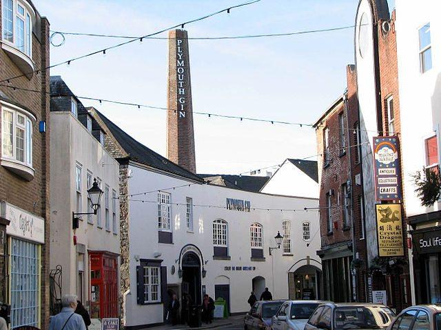 Plymouth Gin Distillery (Bild: Smalljim / pt.wikipedia / Lizenz: CC)