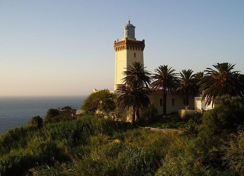 Leuchtturm von Kap Espartel (Bild: Aureliano / pt.wikipedia / Lizenz: CC)