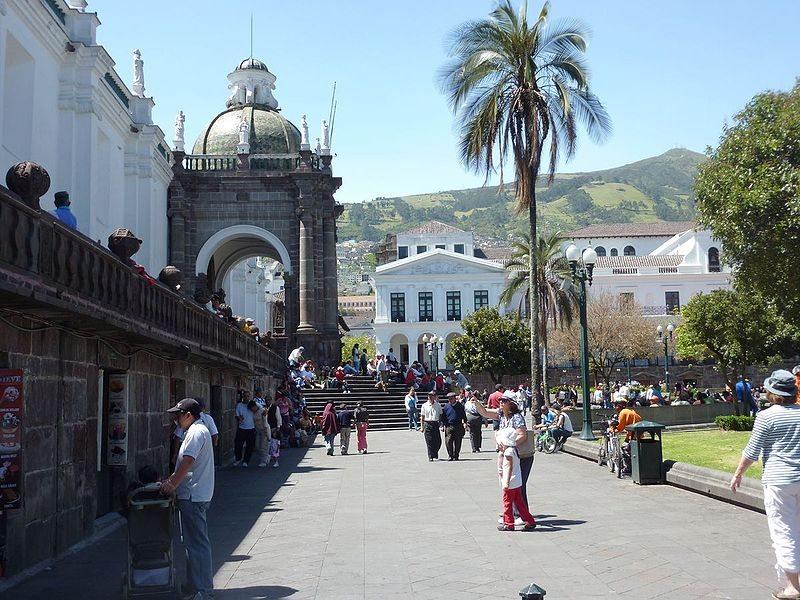 Kathedrale von Quito (Bild: Neverhood / pt.wikipedia / Lizenz: CC)