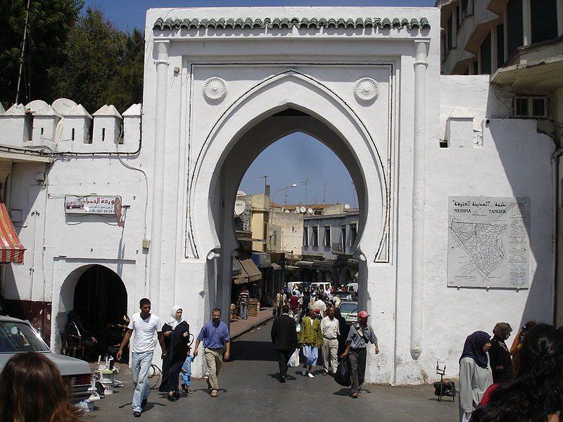 Altstadt von Tanger (Bild: Svilen Enev / pt.wikipedia / Lizenz: CC)