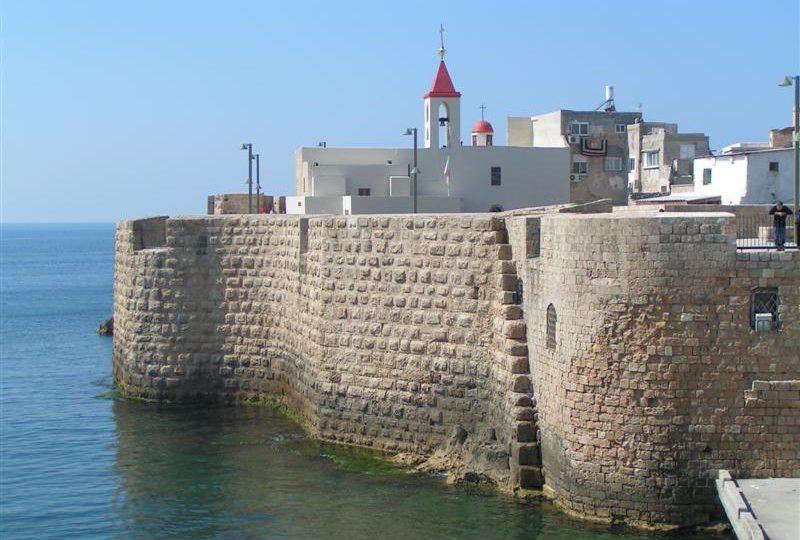 Die alte Stadtmauer von Akko (Bild: Arkadi voller, Wikimedia, CC)