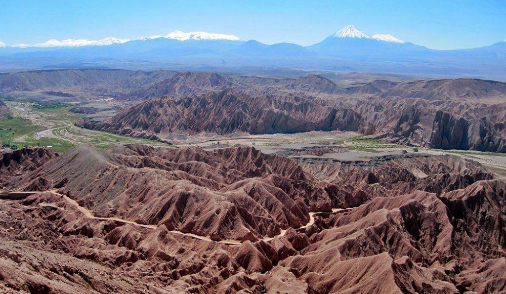 Landschaften der Atacama-Wüste (Bild: Smcmurtrey, Wikimedia, CC ) atacama wüste