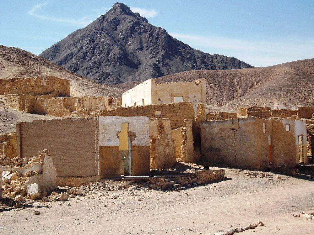 Ghost City Um el Huwaytat bei Safaga (Bild: Romy Schmidt)