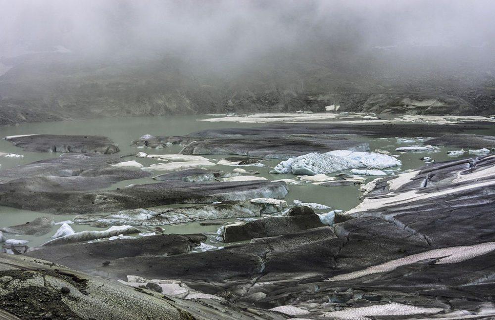 Gletschersee vom Rhônegletscher im Juli 2012 (Bild: LadyBarbara, Wikimedia, CC)