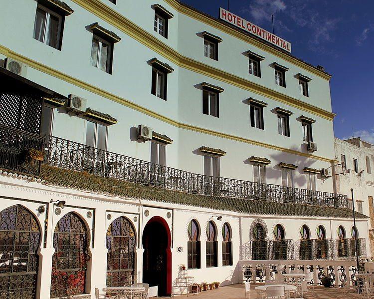 Legendäres Hotel Continental in Tanger (Bild: Calflier001 / pt.wikipedia / Lizenz: CC)