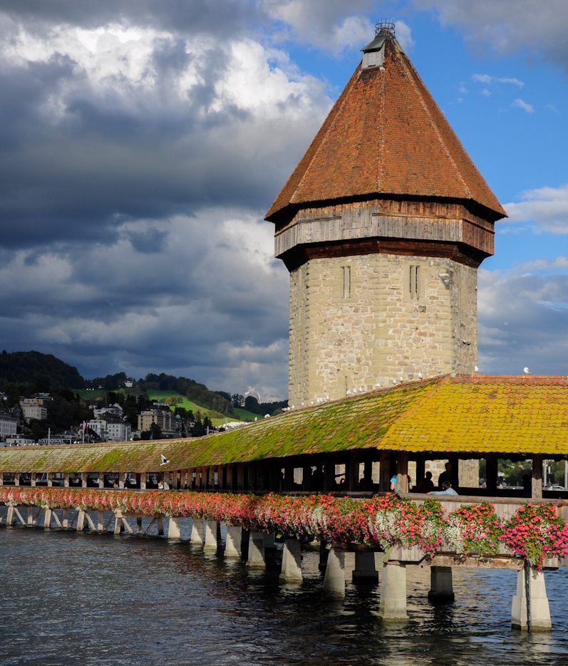 Luzerner Wasserturm (Bild: Tobias Hoderlein, Wikimedia, CC)