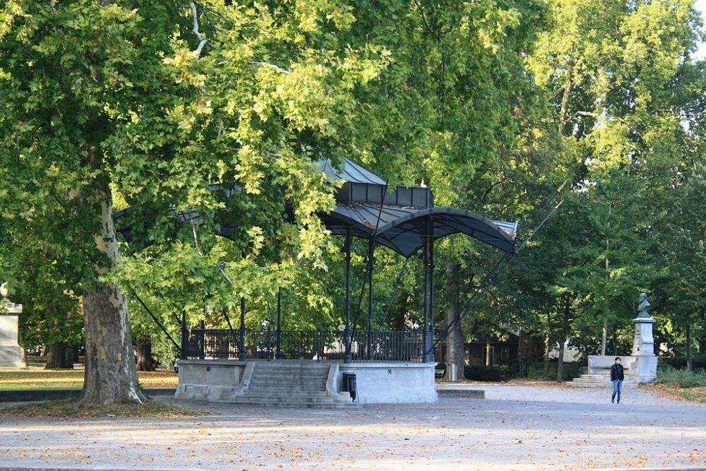 Platzspitzpark in Zürich (Bild: Ronald zh, Wikimedia, CC)